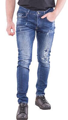 Frankie Morello Men's Jeans Size 33 Skinny Slim Fit Made In Italy