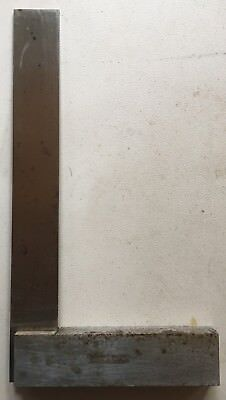 Vintage Moore Wright 8 Inch Master Precision Square Made Sheffield England