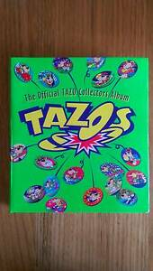 Collectible Tazo's full set of 220, backing sheets & album Shellharbour Shellharbour Area Preview
