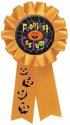 Halloween Party FUNNIEST FUNNY COSTUME Award Rosette Medal PRIZE FREE P&P (Funniest Halloween Costume)
