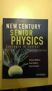 New Century Senior Physics Textbook Underwood Logan Area Preview