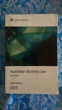 Australian Business Law 34th Edition Melton South Melton Area Preview