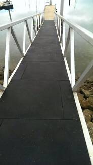 Rubber tile mats Suitable and durable for Pontoon / ramp walkways Angle Park Port Adelaide Area Preview
