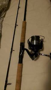 Shimano sonic pro 732 snapper 6-8KG rod and sienna 4000 FE reel Adelaide CBD Adelaide City Preview