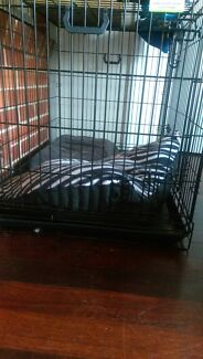 DOG CAGE/CRATE VEBO Collapsible Metal Wire Inglewood Stirling Area Preview