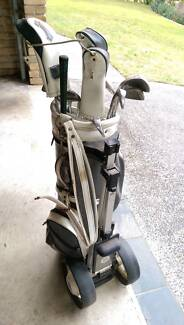 Golf Clubs Set and Bag with Wheels West Pymble Ku-ring-gai Area Preview