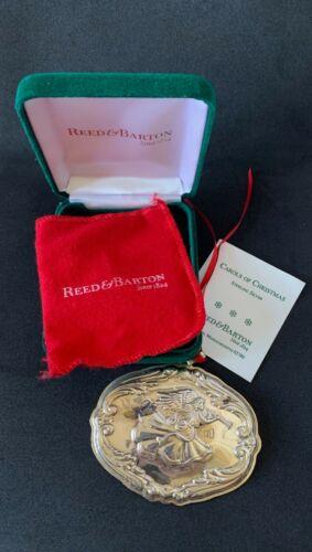 "Christmas Ornament, Reed & Barton, Francis I, ""Hark the Herald Angel Sings"""