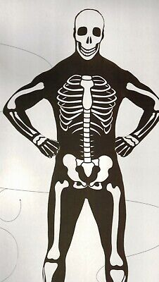 Skeleton Skin Suit (SKELETON SKIN SUIT BLACK)