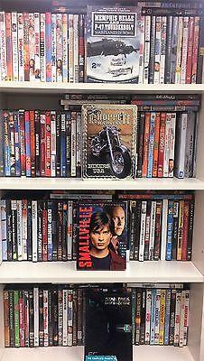 Wholesale Lot of 100 Used Assorted Bulk DVDs Bulk Free