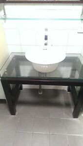Decorative vanity for bathroom North Beach Stirling Area Preview