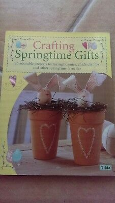 TILDA -Crafting Springtime Gifts-25 Adorable Projects Featuring-Bunnies-Chicks