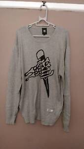 Insight Skull Knife Sweater (L) Campbelltown Campbelltown Area Preview