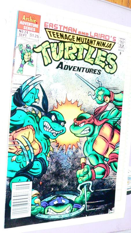 Teenage Mutant Ninja Turtles #24 comic 1991 Archie    n