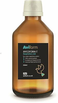 Aviform Mycoform-t Pigeon Respiratory Aid Supplement 250ml Bird Food BN
