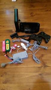 WII U Consule with games & extras Lockleys West Torrens Area Preview