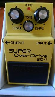 Boss SD-1 overdrive pedal Riverton Canning Area Preview