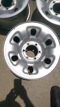 "Nissan Patrol 16"" steel rims Greenslopes Brisbane South West Preview"