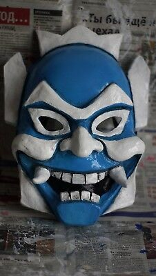 Blue Spirit mask Zuko Avatar The Last Airbender halloween costume cosplay Prince