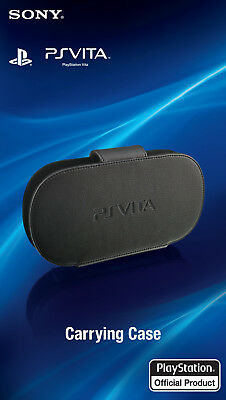 Official Sony PlayStation PS Vita Black Protective Carrying Case Kick Stand 1000 for sale  Shipping to Nigeria
