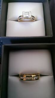 Engagement Ring & Wedding Ring Set Brisbane City Brisbane North West Preview