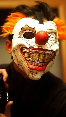 Sweet Tooth mask Twisted Metal Clown game mask Needles Kane mask Clown Halloween - Twisted Metal Clown