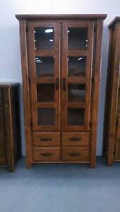 RRP$799 Farmhouse Display Cabinet FACTORY DIRECT CLEARANCE Dandenong South Greater Dandenong Preview