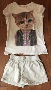10 items of Girl's clothes size 7-8