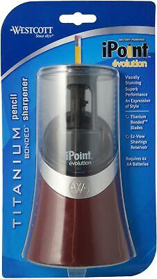 Westcott iPoint Evolution Electric Pencil Sharpener 1 ea - Ipoint Pencil Sharpener
