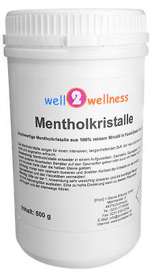 Menthol Crystals/Menthol Crystals/Sauna Crystals IN A 500g Can