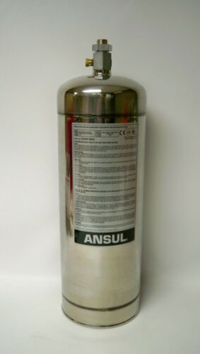 NEW Ansul 429862 Stainless Steel 3-Gallon Restaurant Fire Suppression Tank R-102