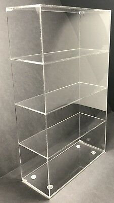Acrylic Cabinet Counter Top Display Showcase Box 9 12x 7 X 16 Display Box
