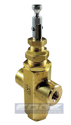 Pilot Valve Cross Unloader Mounting Boss For Air Compressor 95-125 Psi 14 Fnpt
