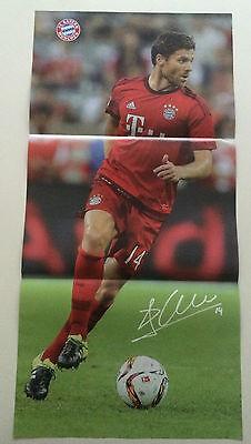 Fc Bayern München Poster Xabi Alonso / Jérome Boateng