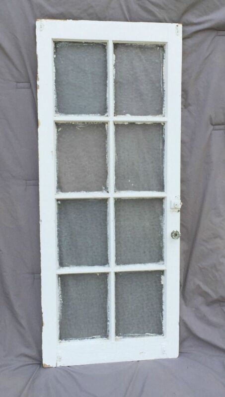Vintage Antique Casement Cabinet Window Sash Shabby Florentine Chic Vtg 941-16