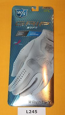 Wilson Staff Golf Glove Ladies Right Handed Large NEW