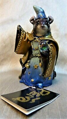 WINDSTONE EDITIONS MOUSE WIZARD SKY COPPER TEST PAINT #1