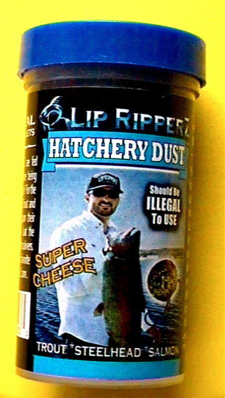 "LIP RIPPERZ HATCHERY DUST LARGE 3oz JAR ""SUPER CHEESE"" - FREE SHIPPING"