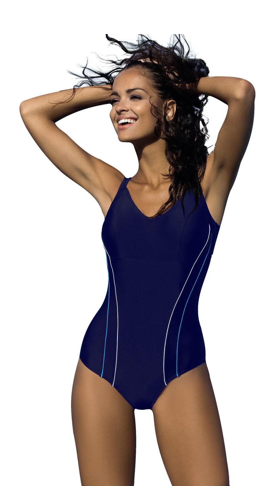 New Womens Swimming Costume One Piece Swimsuit Beachwear