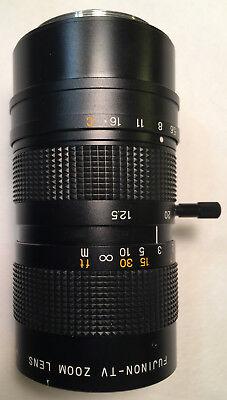 Fuji Fujinon Tv Zoom Lens H6x12.5r 11212.5-75 180792