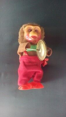 Vintage Toy Monkey With Cymbals](Monkey With Cymbal)