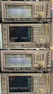 Rohde Schwarz Smiq03b Signal Generator 3.3ghz W B1 B11 B12 B20 B14 B17