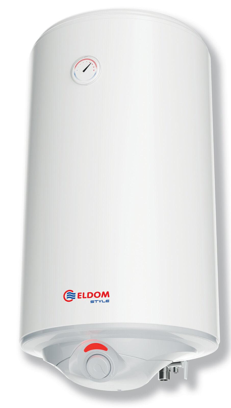 Warmwasserspeicher Boiler Warmwasserbereiter 80L druckfest Eldom Style