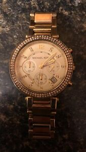 Michael Kora gold watch ladies