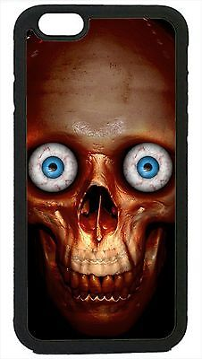 Skull Face Sugar Skull Head Scary Case Cover for iPhone 4 4s 5 5s 5c 6 - Scary Sugar Skull