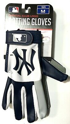 MLB New York Yankees Youth Batting Glove M