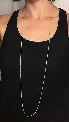 Jennifer Meyer Bar Chain Necklace - 44 In YG