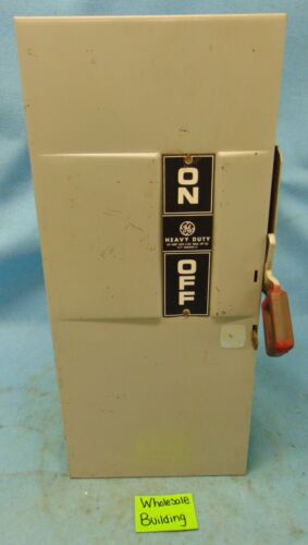 SQUARE D, SAFETY SWITCH, TH3362, MOD 7, 60 A, 600 V, 250 VDC, TYPE 1 ENCLOSURE