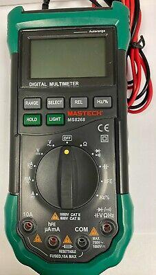 Mastech Ms8268 Digital Multimeter 1000 Volts