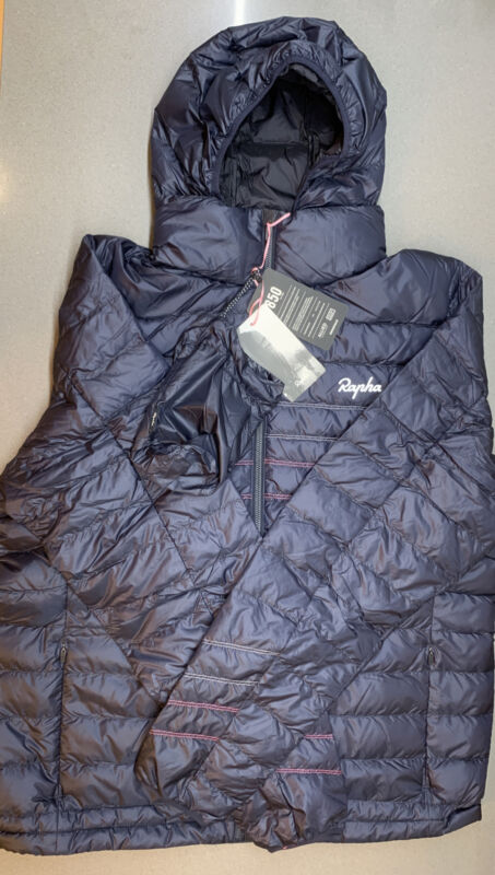Rapha Explore Down Jacket Dark Navy Size XX Large Brand New With Tag