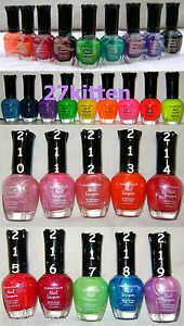 KLEANCOLOR-NAIL-POLISH-LACQUER-CHUNKY-HOLO-NEONS-ECT
